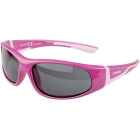 Alpina Flexxy Lunettes Enfant, Pink/Rose/black mirror